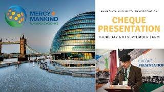 AMYA Live Stream - MKACC 2018 Cheque Presentation