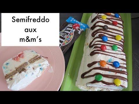 semifreddo-aux-m&m's---dessert-glacé-italien--recette-facile