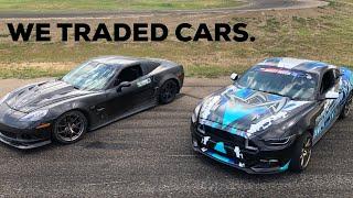 Trading My 2JZ Mustang For A C6 Corvette Drift Car!