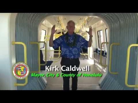 HART Rail Car tour with Mayor Caldwell