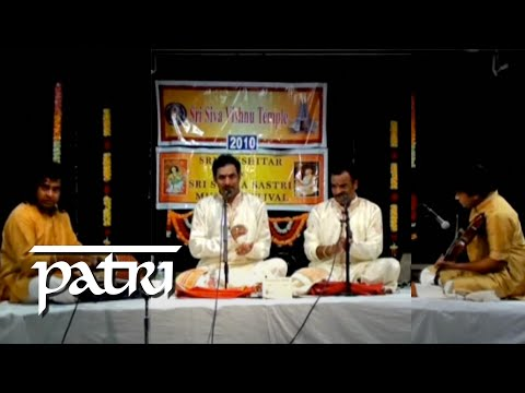 PATRI SATISH KUMAR with MALLADI BROS-TANI-MISRA TRIPUTA TALAM-RTP.wmv