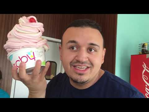 HALLOWEEN COSTUME SCARE CAM @ TARGET! HUGE TCBY FROYO TOWER CHALLENGE!!   DINGLE HOPPERZ