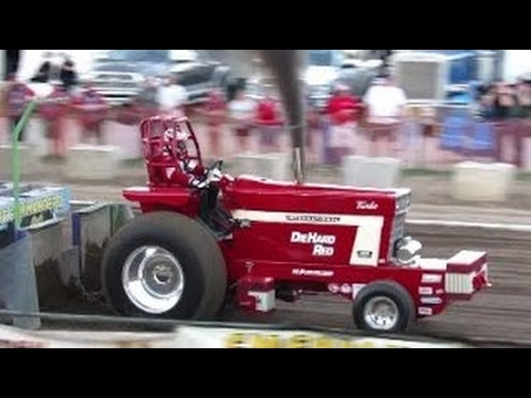 2016 Two Wheel Drive Tractor Pulls in Ballston Spa New York Saratoga County Fair