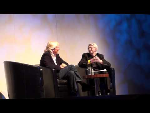 Sir Richard Branson on Virgin Records at Business 2012 - London