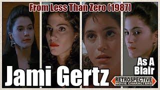 Jami Gertz As A Blair From Less Than Zero (1987)