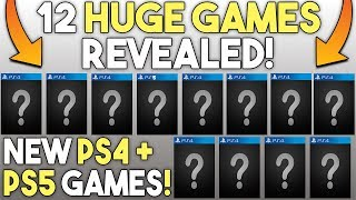 12 Huge PS4 and PS5 Games Revealed - New Open World, RPG's and More!