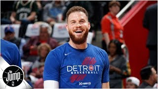 Blake Griffin mouths 'ref, you suck' chant, and Chris Paul keeps trolling floppers | The Jump