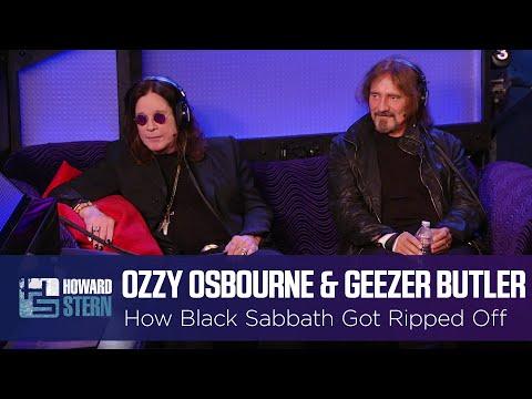 Ozzy Osbourne & Geezer Butler on How Black Sabbath Got Ripped Off (2013)