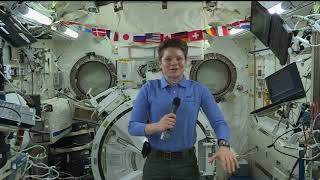 ISS Expedition 58 Flight Engineer Anne McClain Interviews with CNN and NPR