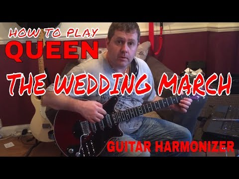 Queen - The Wedding March - Guitar Lesson (Arranged for One Guitar)