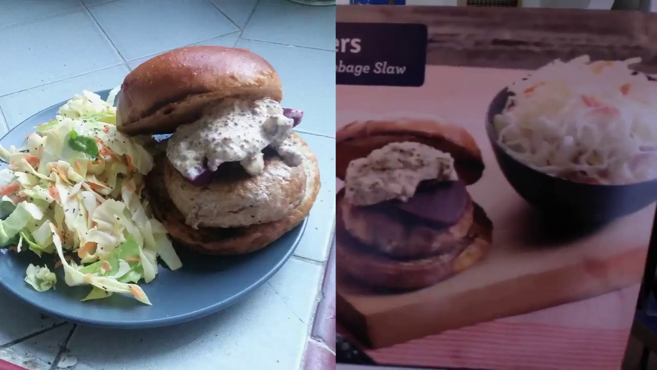 Blue apron top chef contest - True Blue Apron Review Spiced Pork Burgers