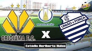 Criciúma x CSA pelo Brasileirão Série B 2018 - PES 2018