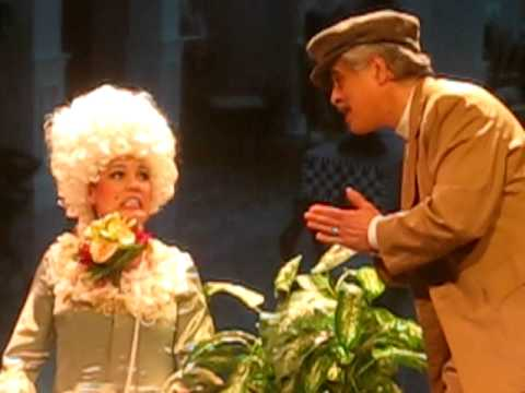 The Dancing Cavalier - Kimberly Barrett as Lina Lamont Singin in the Rain Emerson Umbrella Theater