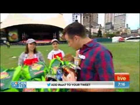 Oasis Youth Support Network on Weekend Sunrise