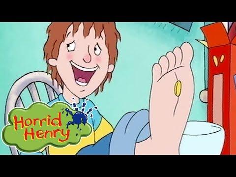 Horrid Henry - Horrible Feet | Cartoons For Children | Horrid Henry Episodes | HFFE