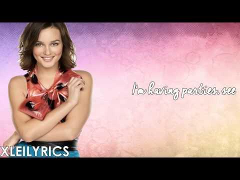 Leighton Meester - LA (Lyrics Video) HD