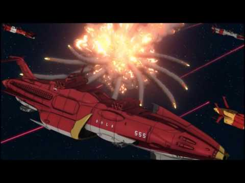 Space Battleship Yamato 2199 Episode One Space Battle (Ships only)