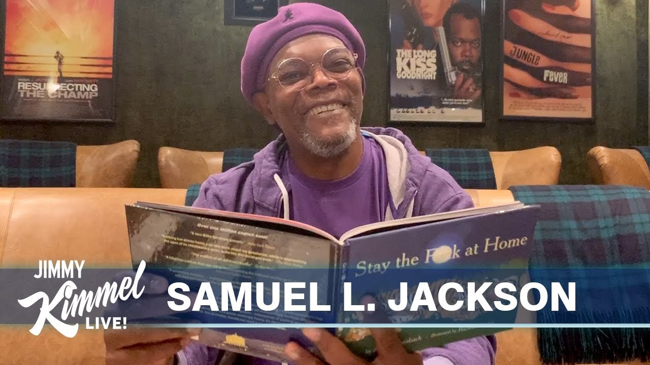 Samuel L. Jackson Says Stay the F**k at Home