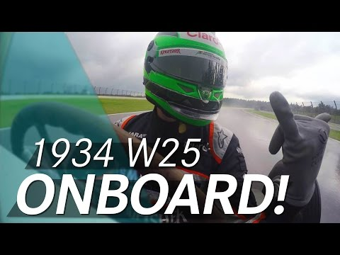 Onboard action with Nico Hülkenberg! 1934 W 25