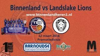 Binnenland Heren 1 vs Landslake Lions