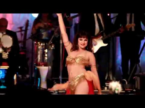 Retro Belly Dance with Alia and Egyptian Surf Rock Band Zamman