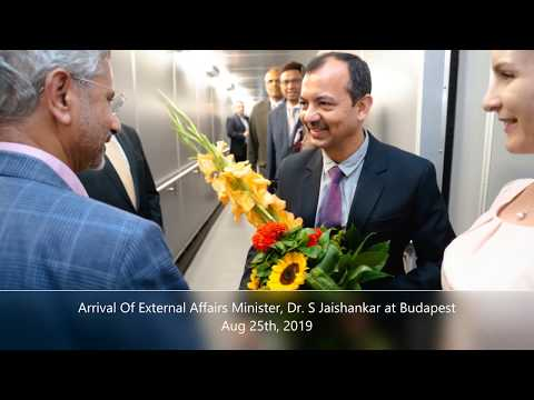 External Affairs Minister of India visits Hungary