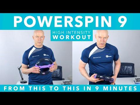 Intense 9 Minute Powerspin Workout Powerball