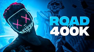 PUBG MOBILE LIVE WITH HYDRA DANGER | ROAD TO 400K