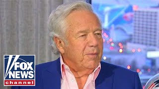 Patriots owner Robert Kraft talks Super Bowl, Tom Brady's future