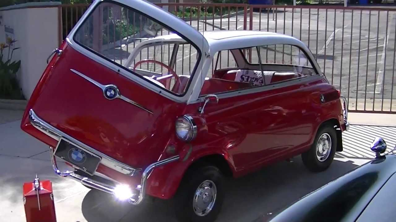 1959 BMW 600 Bubble Car  YouTube