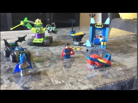 LEGO BATMAN & SUPERMAN VS LEX LUTHOR PT 2