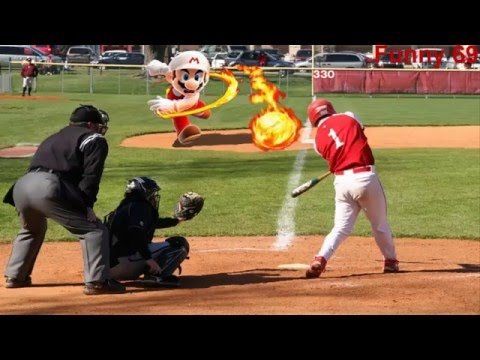 20 funny pictures  baseball fails LOL 2016!