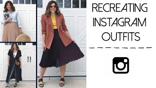 Recreating Instagram Outfits  Vol.2  |  What Kate Finds