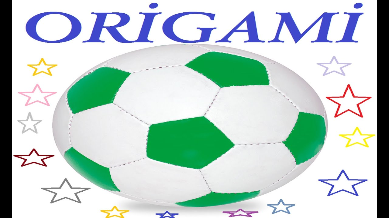 how to make origami soccer ball origami futbol topu