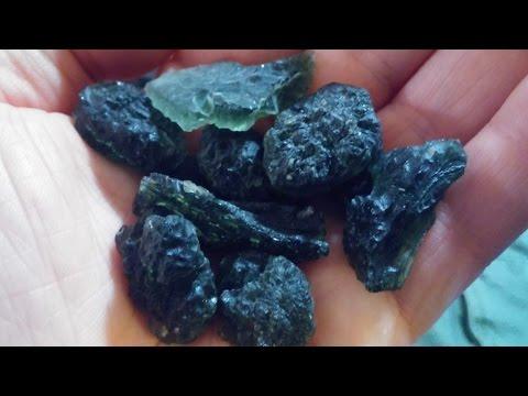 Sagittarius 2016 featured programmed crystal: Moldavite