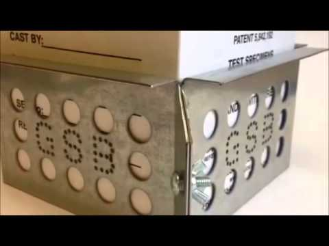 Deslauriers Grout Sample Box Fixture - YouTube