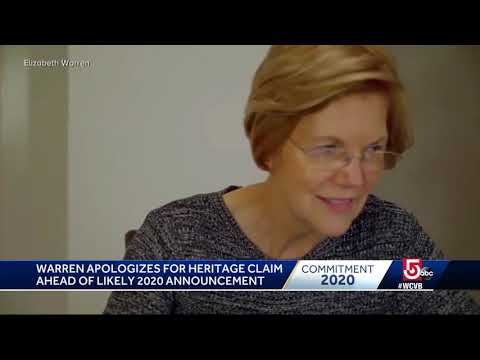 Elizabeth Warren Apologizes For Listing Race As