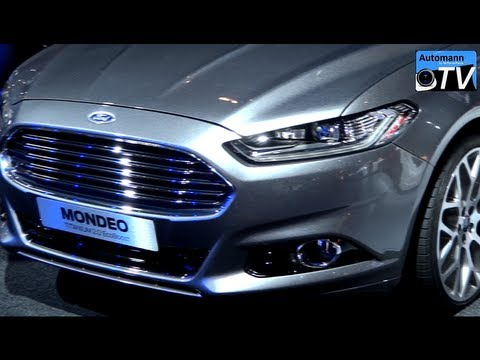 2013 Ford Mondeo Turnier Titanium 2.0(250hp) - In Detail (1080p FULL HD)