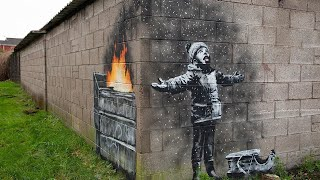 #banksy #streetart #graffiti #artin this video i want to show you the best works of most famous street artist in world-banksy.who is banksy?banksy is...