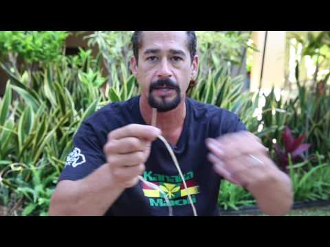 Making Hawaiian Cordage