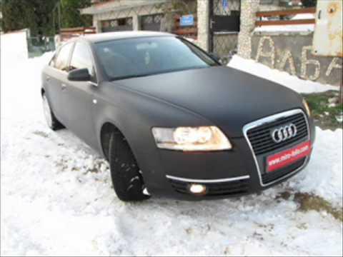 Miro Folio Audi A6 Black Matte Youtube