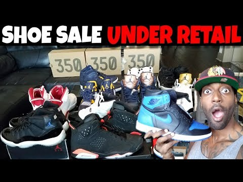 CRAZY SHOE SALE FOR UNDER RETAIL!! HURRY UP AND BUY!!!