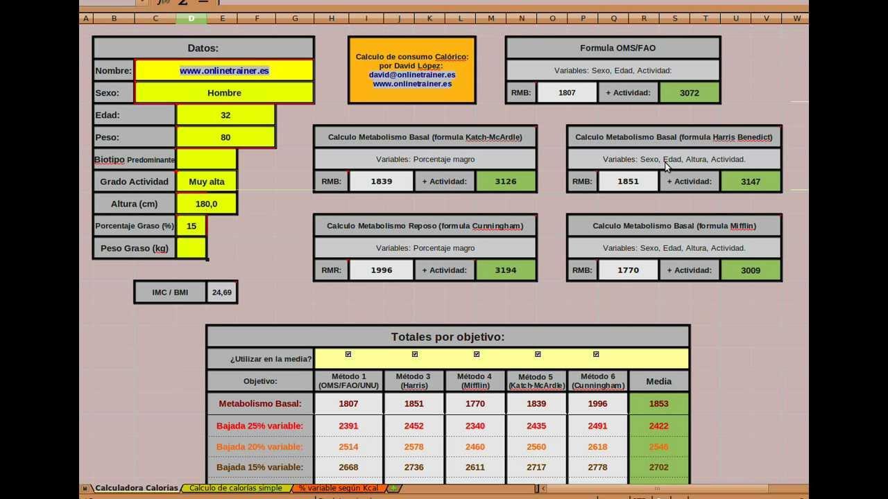 Como calcular vuestro consumo energetico utilizando una herramienta ...