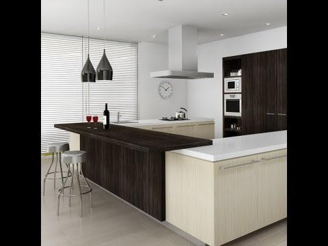 3ds max Making of Kitchen (fast forward)