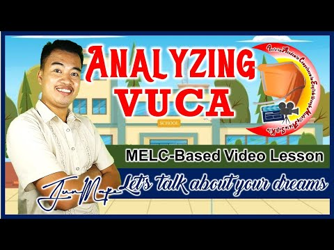 Analyzing VUCA Phase 2   Let's talk about your dreams   MELC- Based   English Grade 9