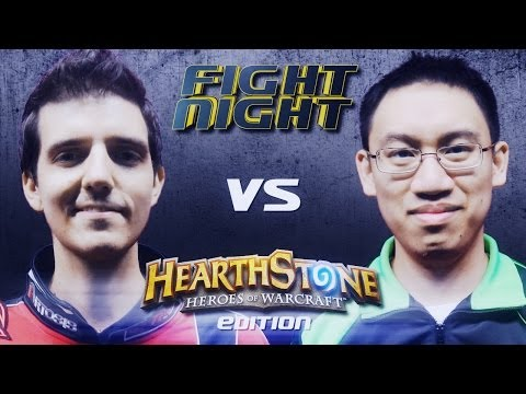Fight Night Hearthstone - Artosis vs Trump - S02E01
