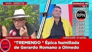 *TREMENDO * Épica humillada de Gerardo Romano a Olmedo