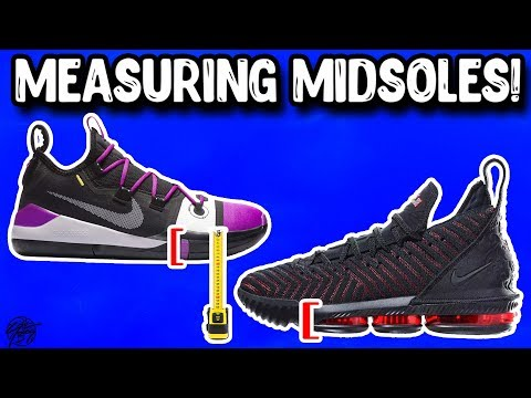 Thinnest Midsoles in Basketball Shoes