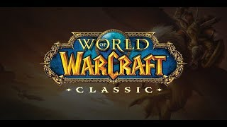 Blizzcon WoW Classic Demo!! (1 Hour Limit) Warrior Leveling!