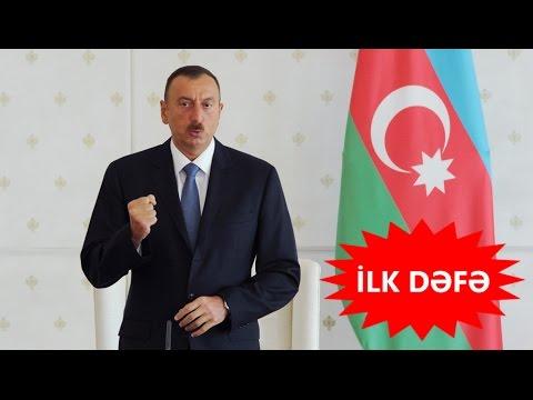 İlham Əliyev YOXSULLUQ və SƏFALƏTDƏN danışdı - İLK DƏFƏ